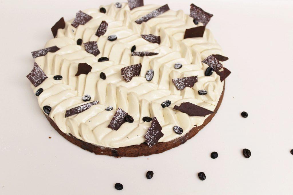 chocolate and coffee pie