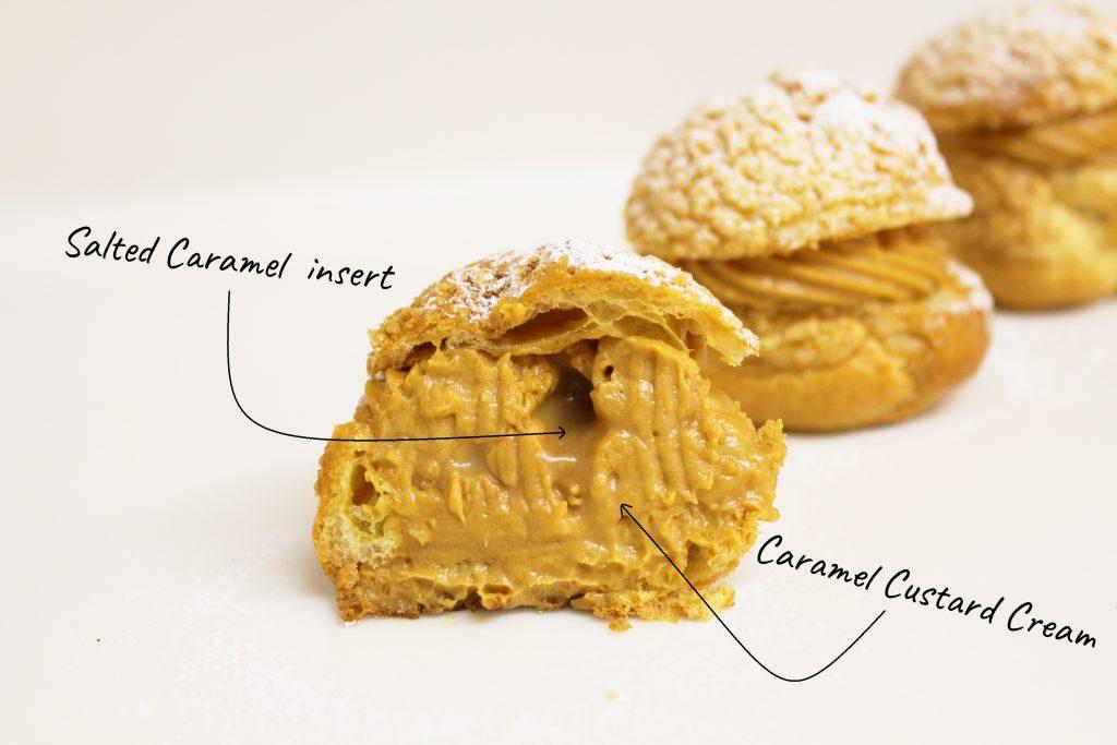 caramel puff