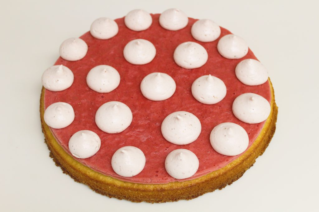 strawberry ganache