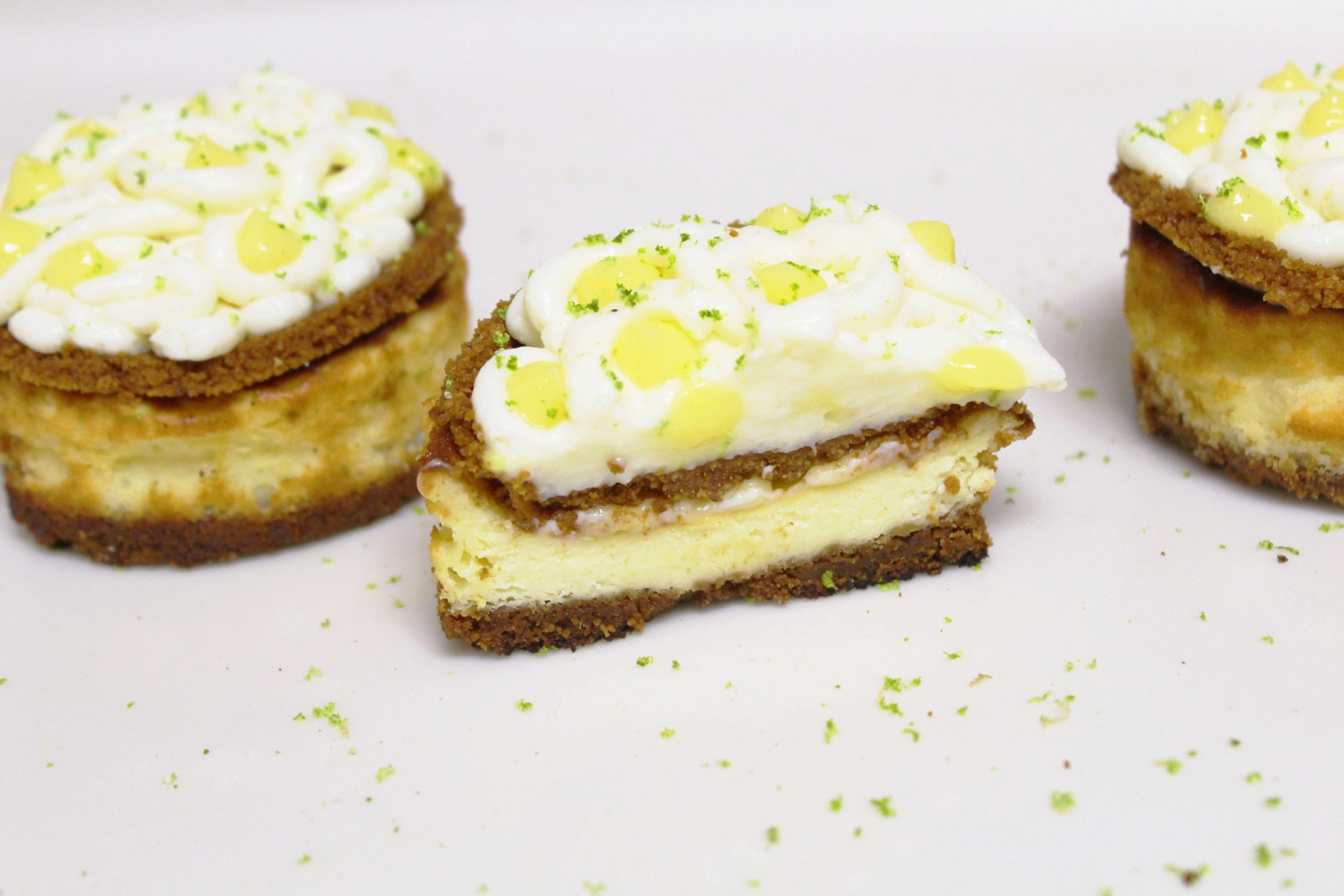 Baked Lemon and Speculoos Cheesecake