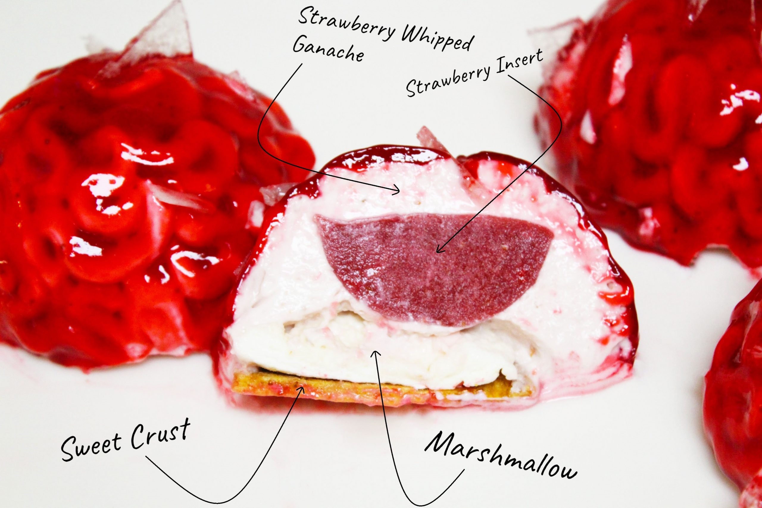 Strawberry Entremet