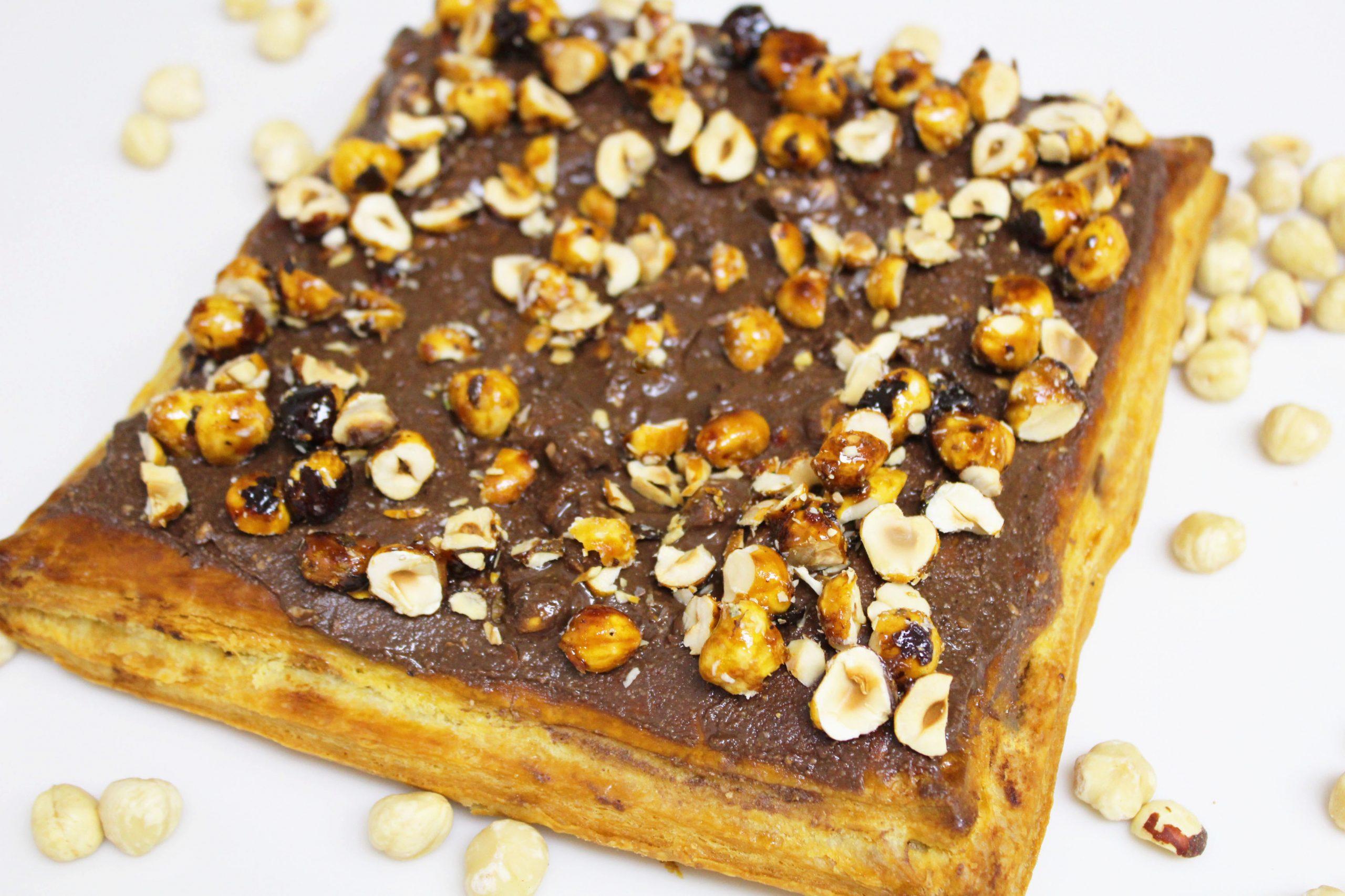 Hazelnut and Chocolate King Cake